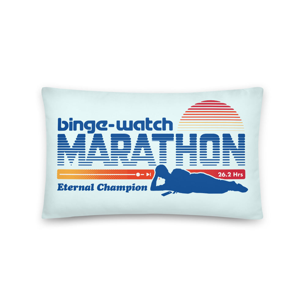 Binge Marathon Pillow