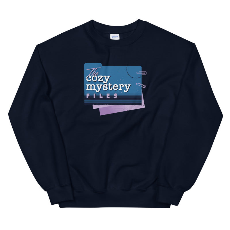 Cozy Mystery Files Sweatshirt