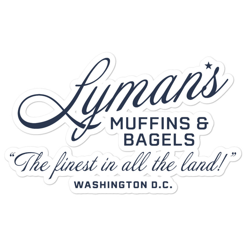 Lyman's Muffins and Bagels Sticker