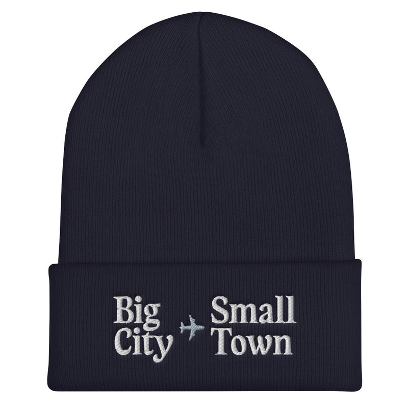 Holiday Trope – Big City to Small Town Beanie
