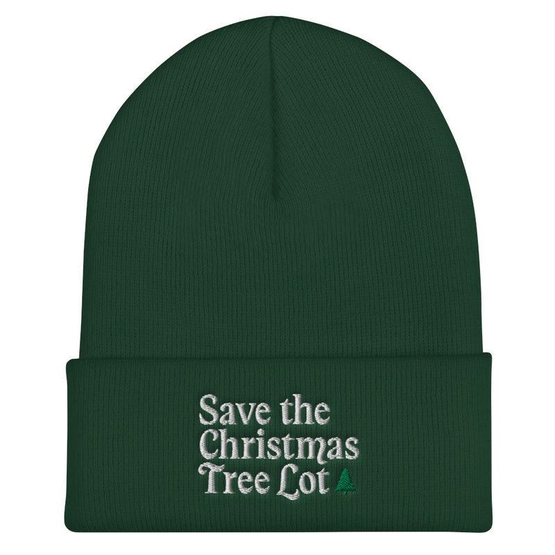 Holiday Trope – Save the Christmas Tree Lot Beanie