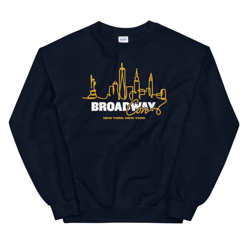 BroadwayCon NYC Skyline Sweatshirt