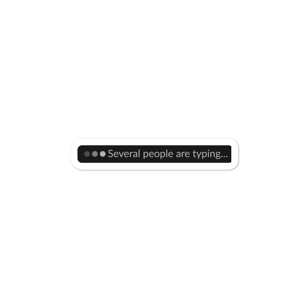 Several People Sticker