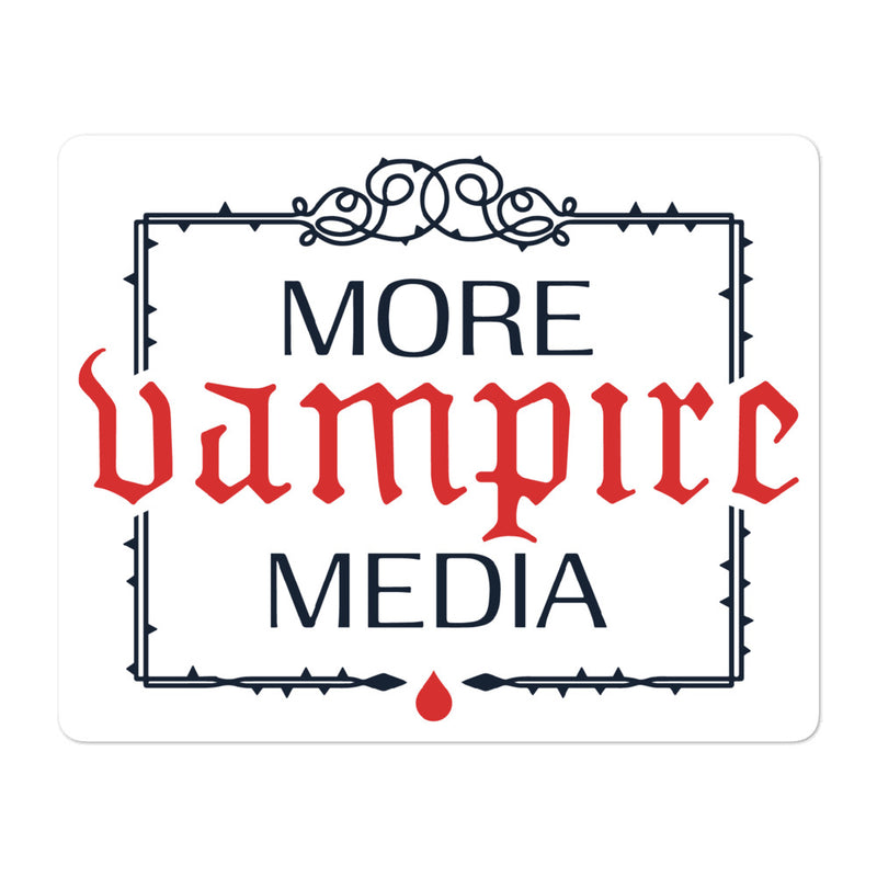 More Vampire Media Sticker
