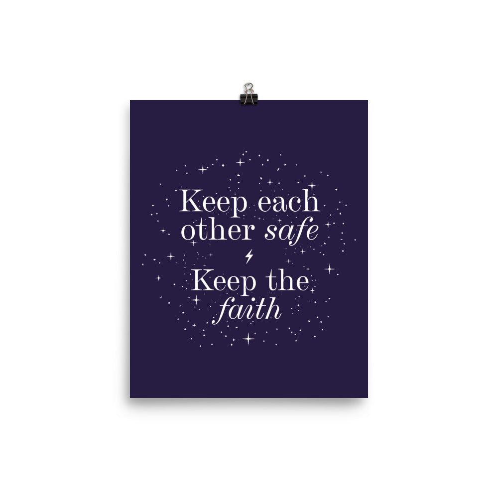 Keep the Faith Poster