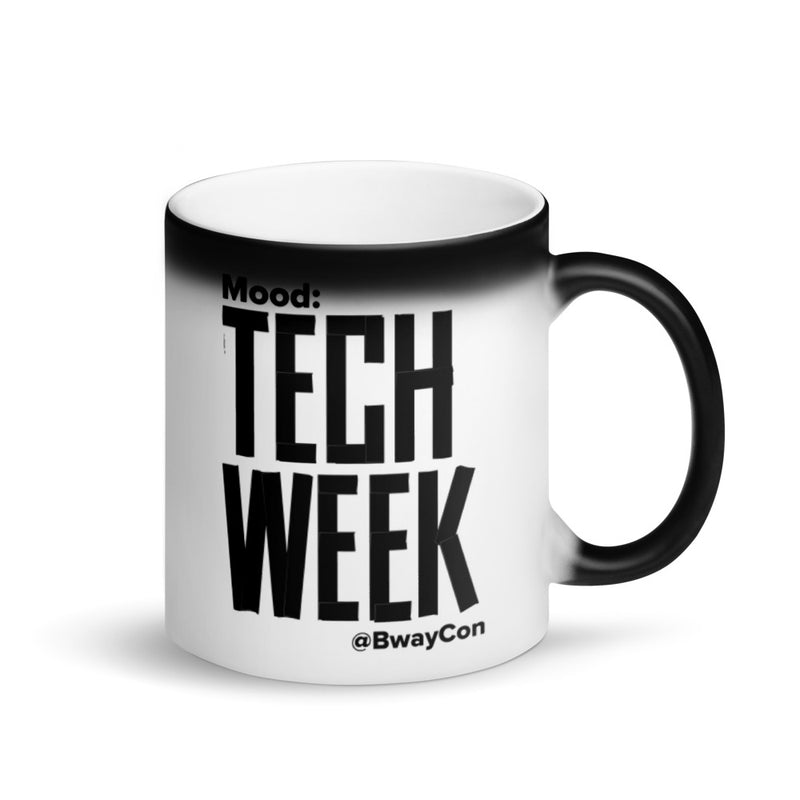 Mood: Tech Week Matte Black Magic Mug