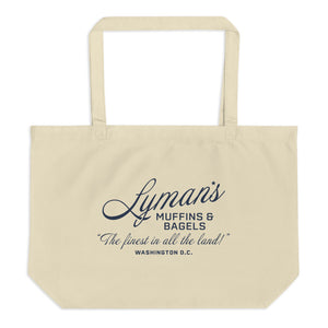 Lyman's Muffins and Bagels Large Tote