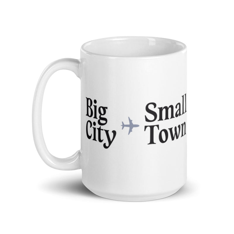 Holiday Trope – Big City to Small Town Mug
