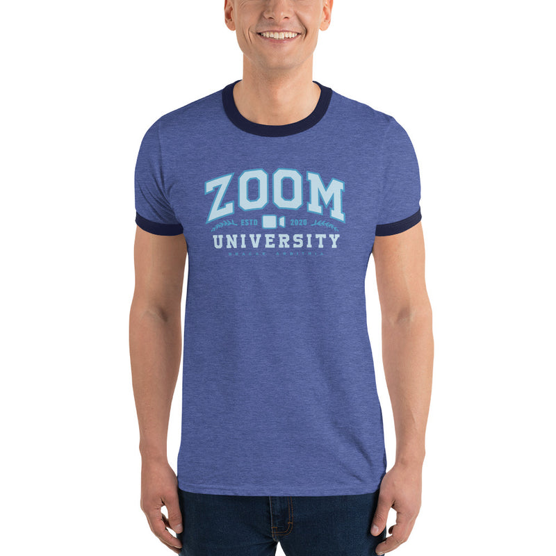 Zoom University Ringer Shirt