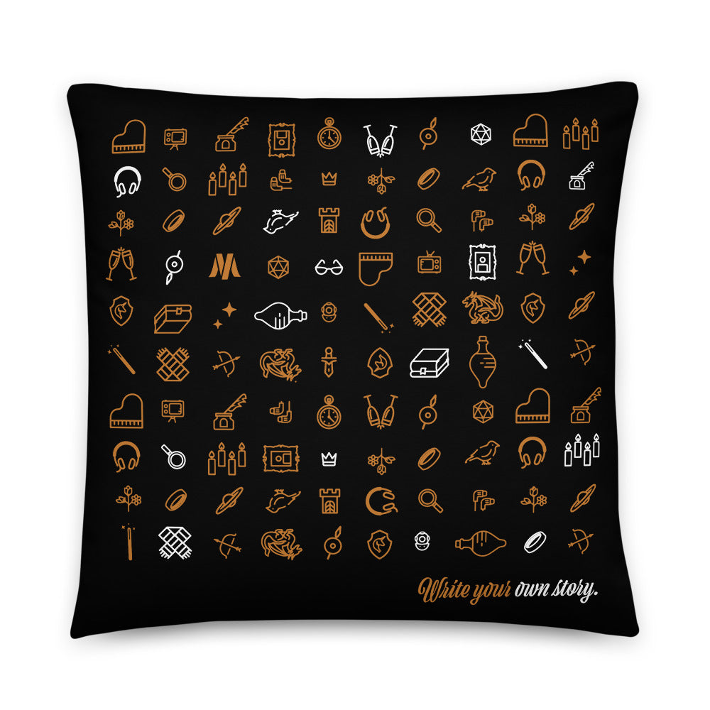 Write Your Own Story Pillow