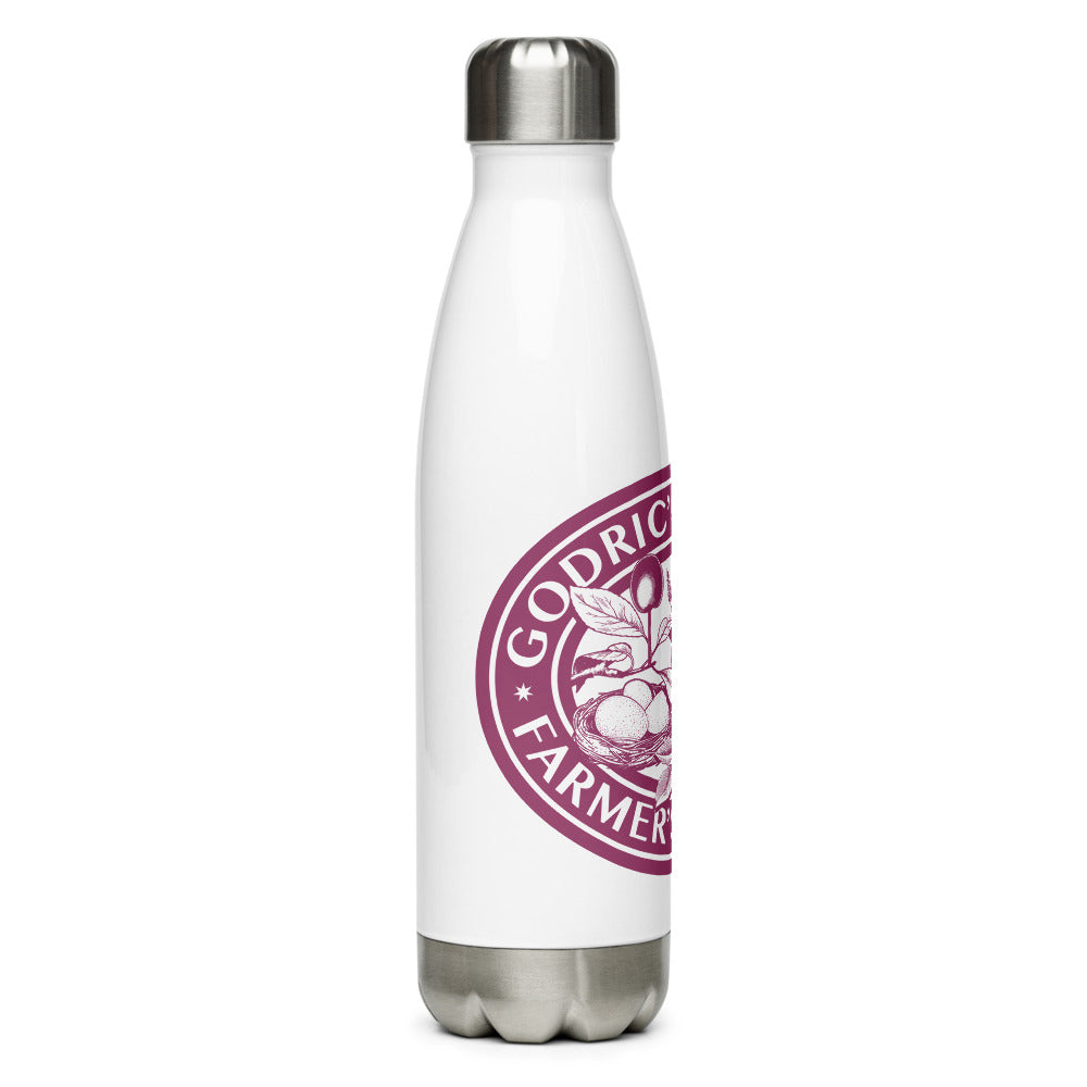 Godric's Hollow Farmer's Market Stainless Steel Water Bottle