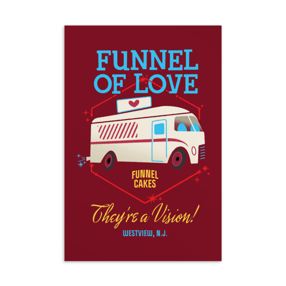 Funnel of Love Postcard