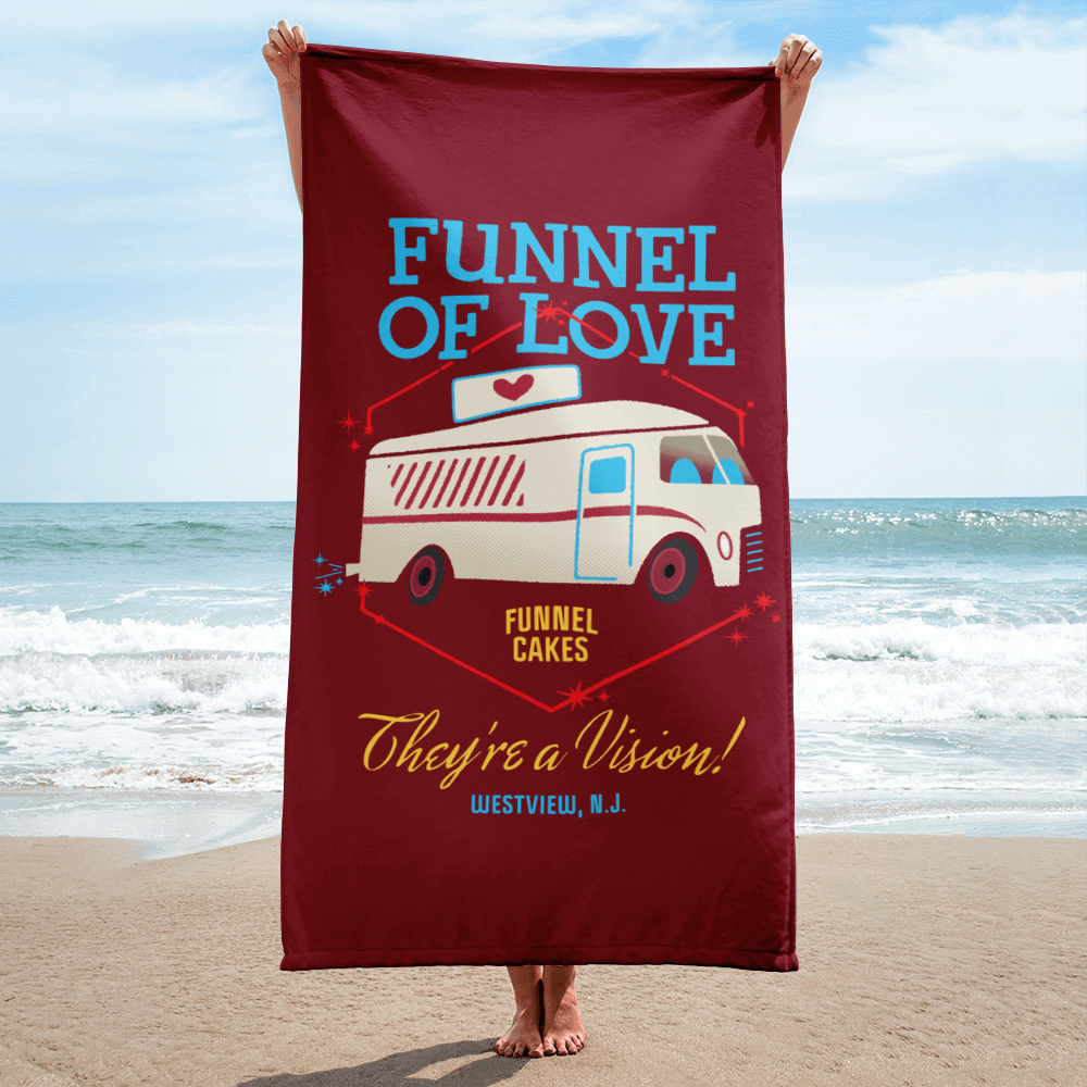 Funnel of Love Towel