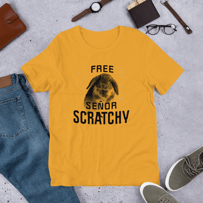 Free Señor Scratchy Relaxed T-Shirt