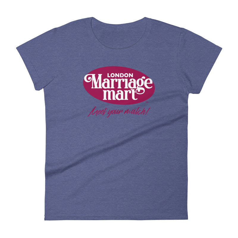 Marriage Mart Fitted T-Shirt