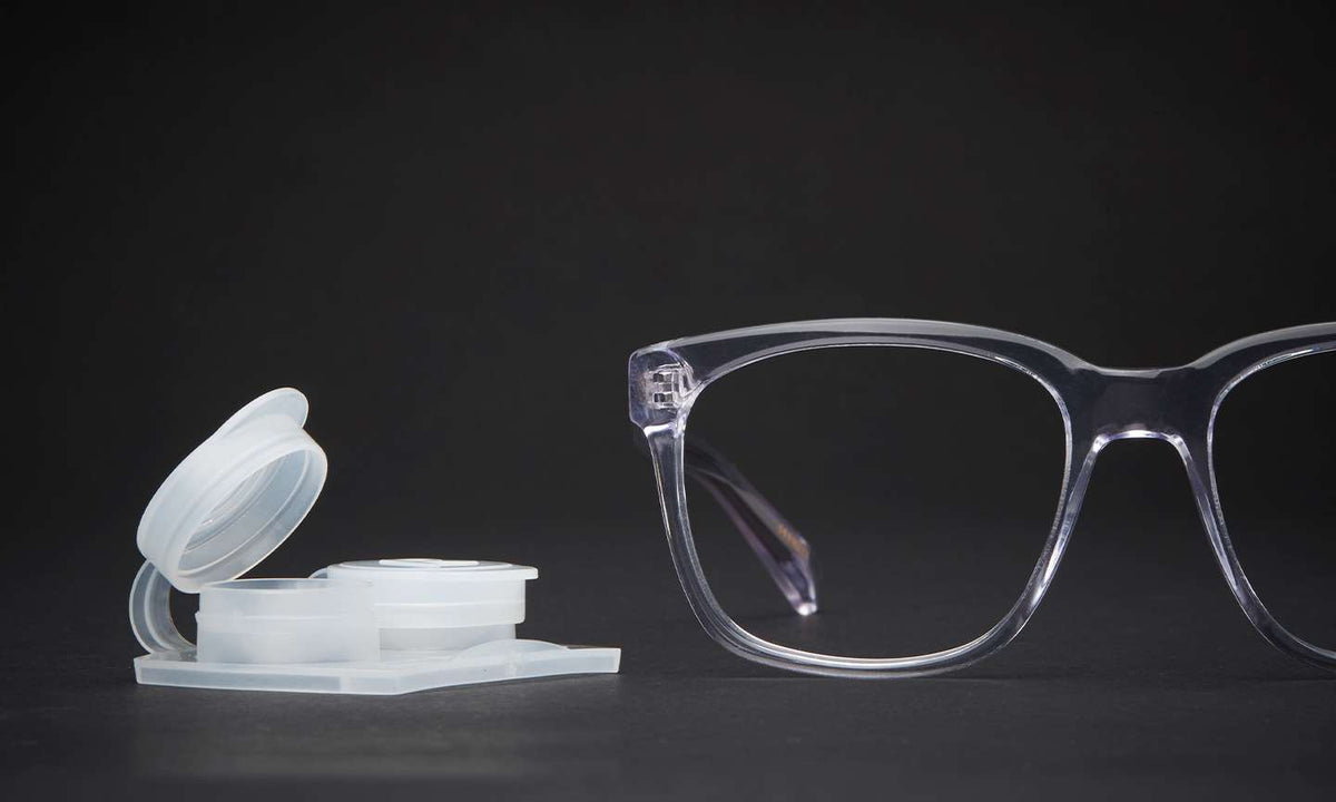 Why Wear Prescription Eyeglasses Over Contacts?