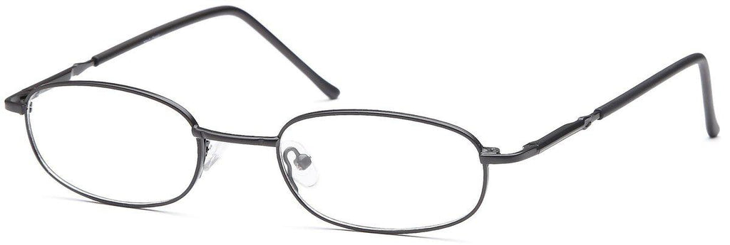 Black-Classic Rectangular PT 7711 Frame-Prescription Glasses-Eyeglass Factory Outlet