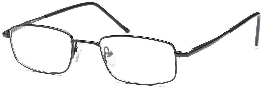 Black-Classic Rectangular PT 7713 Frame-Prescription Glasses-Eyeglass Factory Outlet