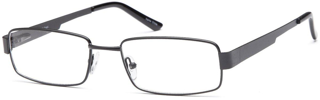 Black-Classic Rectangular PT 85 Frame-Prescription Glasses-Eyeglass Factory Outlet