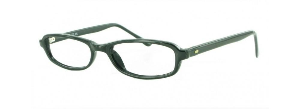 Black-Classic Rectangular Soho 32 Frame-Prescription Glasses-Eyeglass Factory Outlet