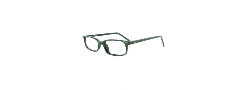 Black-Classic Rectangular Soho 39 Frame-Prescription Glasses-Eyeglass Factory Outlet