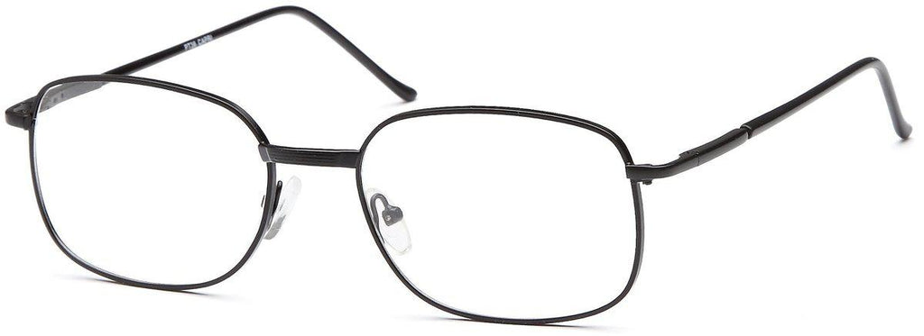 Black-Classic Square PT 36 Frame-Prescription Glasses-Eyeglass Factory Outlet