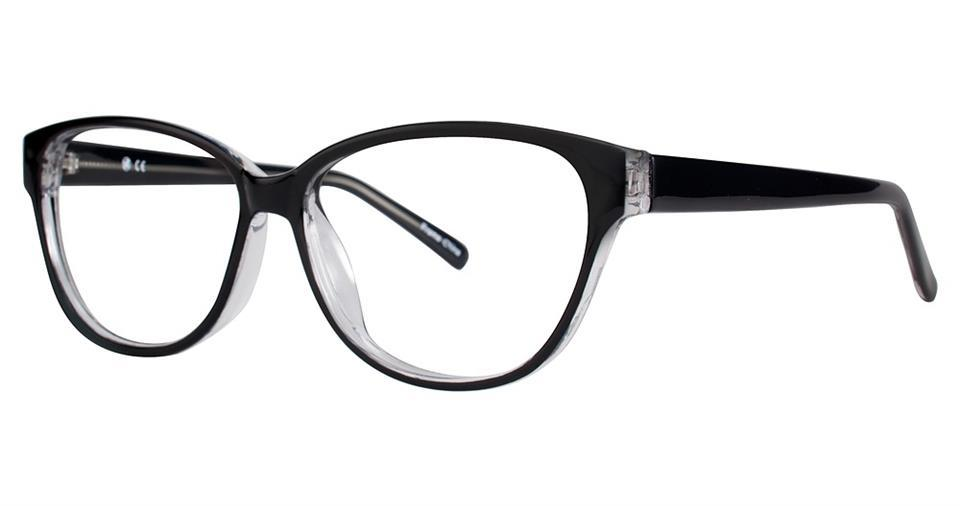 Black-Modern Cat Eye Soho 126 Frame-Prescription Glasses-Eyeglass Factory Outlet