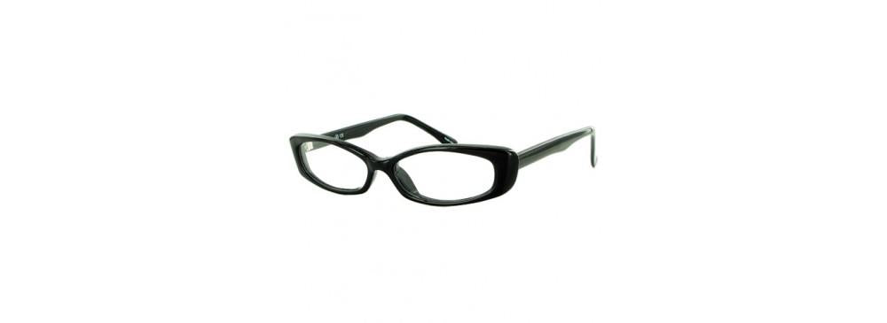 Black-Modern Cat Eye Soho 44 Frame-Prescription Glasses-Eyeglass Factory Outlet