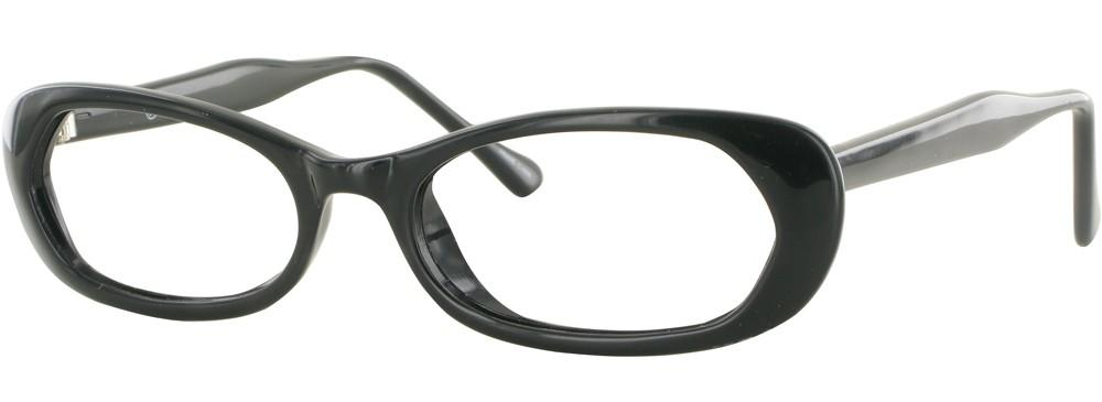 Black-Modern Cateye Soho 33 Frame-Prescription Glasses-Eyeglass Factory Outlet