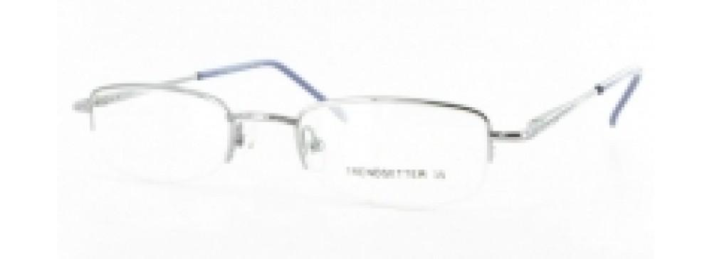 Black-Modern Rimless Trendsetter 35 Frame-Prescription Glasses-Eyeglass Factory Outlet
