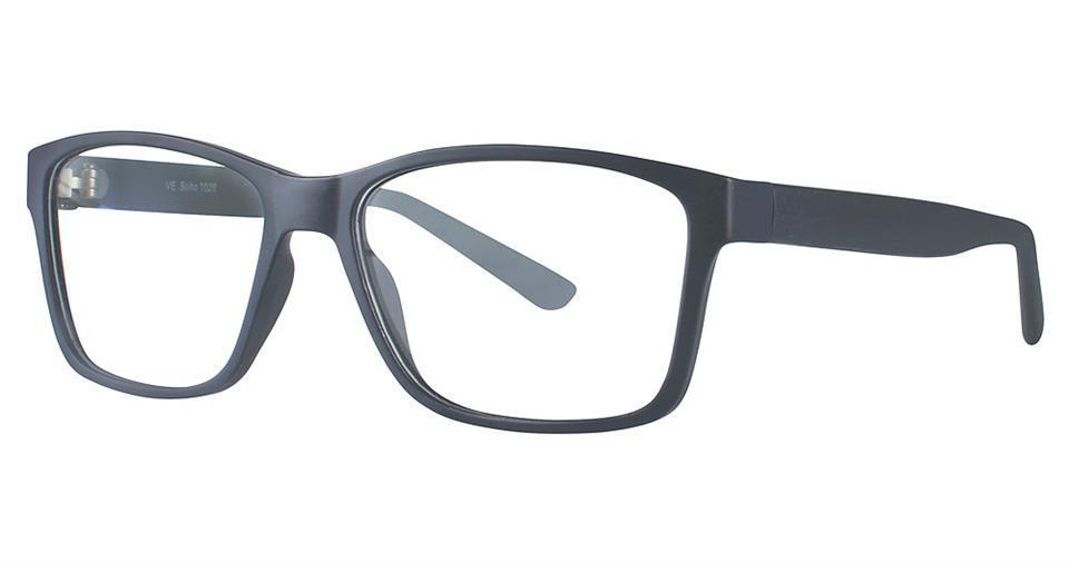 Black-Modern Square Soho 1026 Frame-Prescription Glasses-Eyeglass Factory Outlet