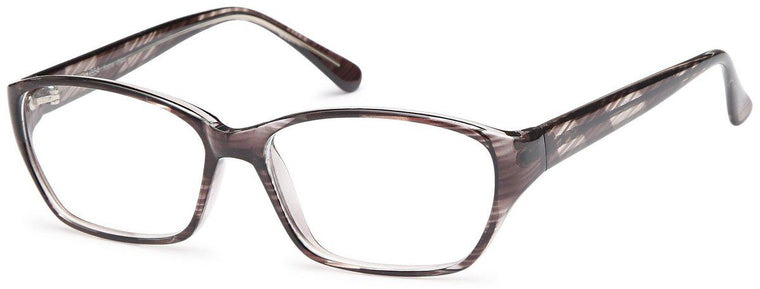 Brown-Modern Square US 54 Frame-Prescription Glasses-Eyeglass Factory Outlet