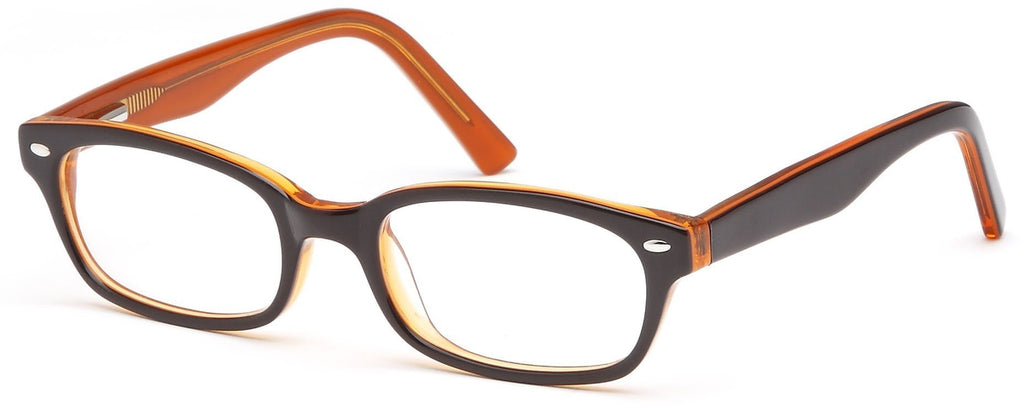 Black-Modern Wayfarer T 20 Frame-Prescription Glasses-Eyeglass Factory Outlet