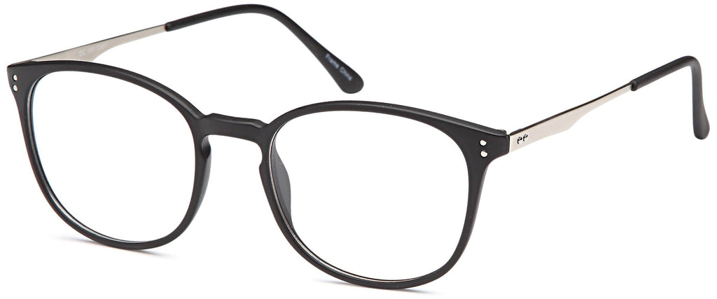 Black-Retro Oval DC 141 Frame-Prescription Glasses-Eyeglass Factory Outlet