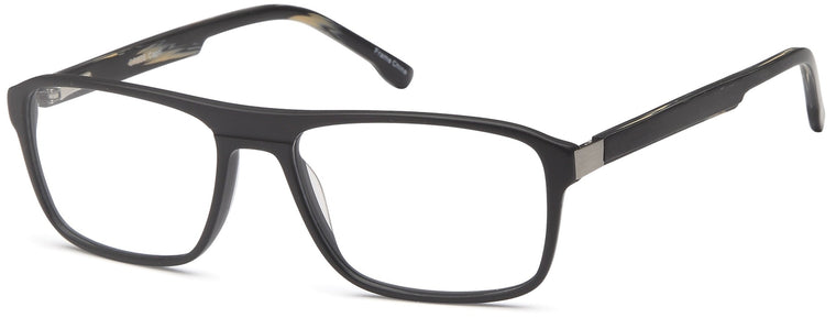 Grey-Trendy Rectangular GR 806 Frame-Prescription Glasses-Eyeglass Factory Outlet