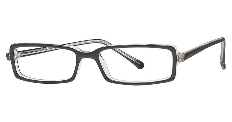 Black/Brown-Classic Rectangular Soho 70 Frames-Prescription Glasses-Eyeglass Factory Outlet