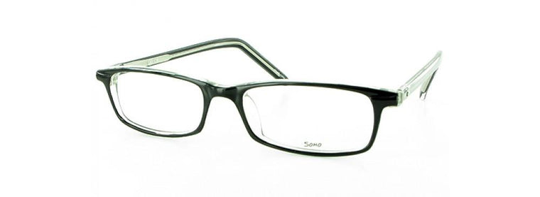 Brown-Modern Rectangular Soho 45 Frame-Prescription Glasses-Eyeglass Factory Outlet