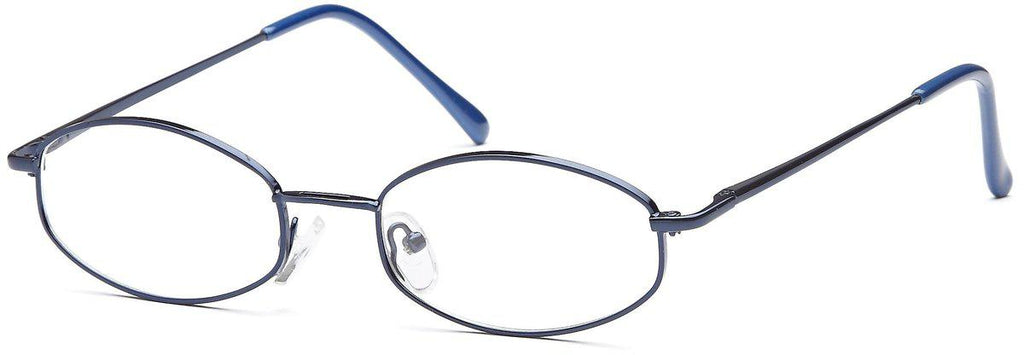 Blue-Classic Oval PT 7710 Frame-Prescription Glasses-Eyeglass Factory Outlet