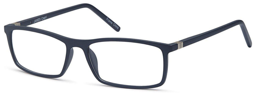 Blue-Classic Rectangular James Frame-Prescription Glasses-Eyeglass Factory Outlet