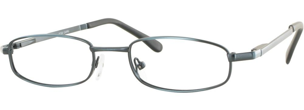 Blue-Classic Rectangular PT 66 Frame-Prescription Glasses-Eyeglass Factory Outlet