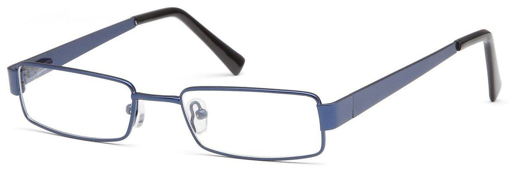 Blue-Classic Rectangular PT 89 Frame-Prescription Glasses-Eyeglass Factory Outlet