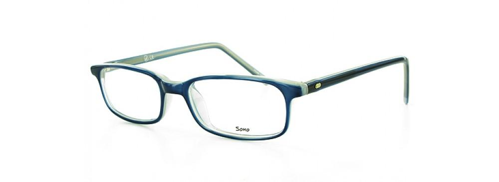 Blue-Classic Rectangular Soho 39 Frame-Prescription Glasses-Eyeglass Factory Outlet