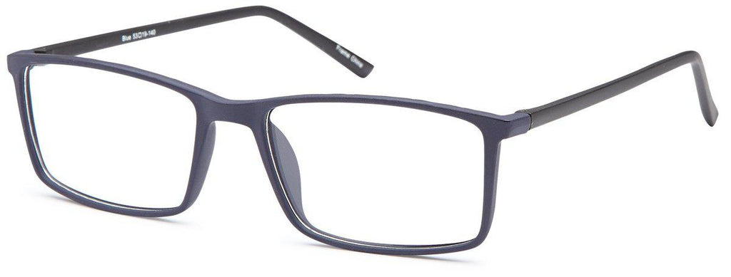 Blue-Classic Square Ethan Frame-Prescription Glasses-Eyeglass Factory Outlet