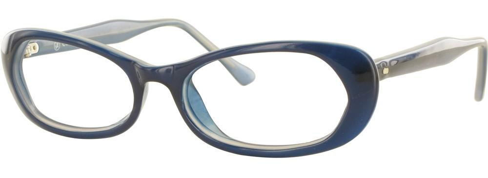 Blue-Modern Cateye Soho 33 Frame-Prescription Glasses-Eyeglass Factory Outlet