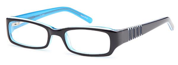 Blue-Modern Oval Kids T 15 Frame-Prescription Glasses-Eyeglass Factory Outlet