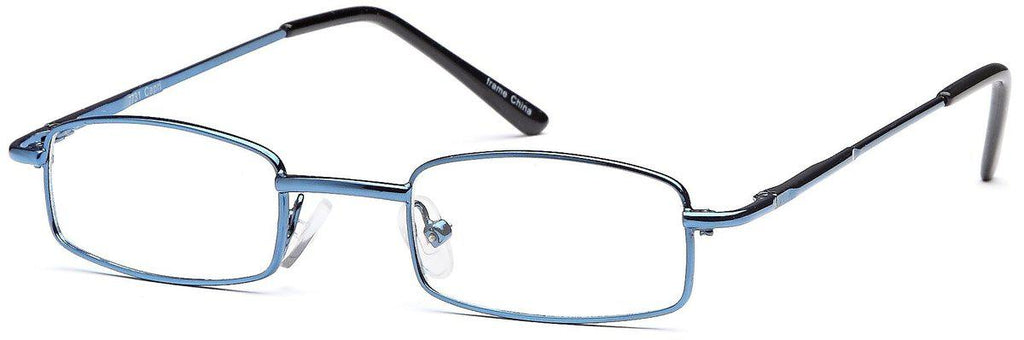 Blue-Modern Rectangular PT 7731 Frame-Prescription Glasses-Eyeglass Factory Outlet