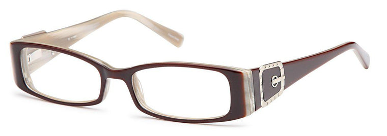 Brown-Classic Rectangular DC 71 Frame-Prescription Glasses-Eyeglass Factory Outlet