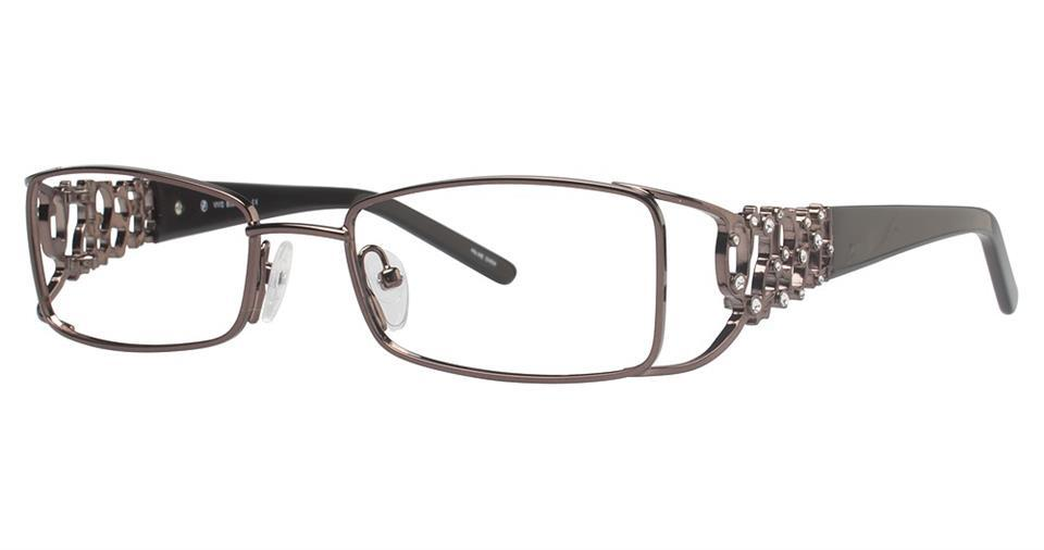 Brown-Classic Rectangular V 5013 Frame-Prescription Glasses-Eyeglass Factory Outlet