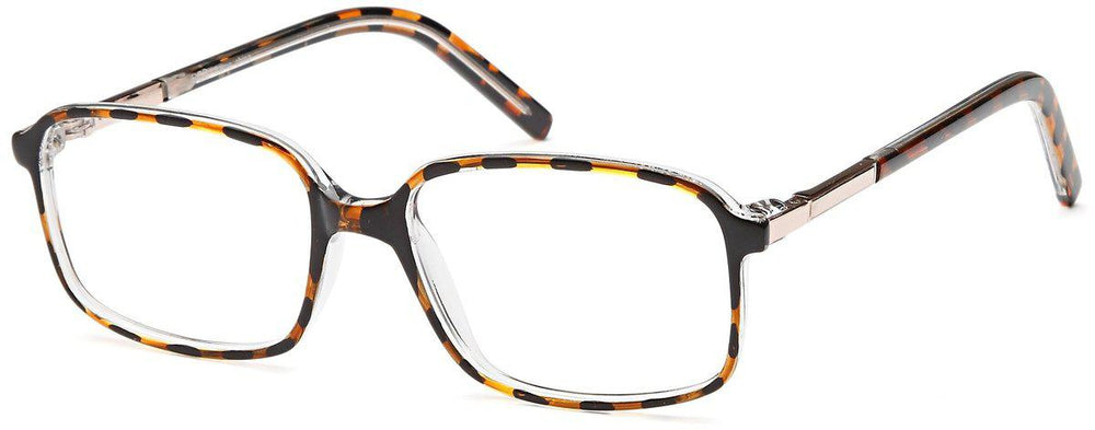 Brown-Classic Square Bob Frame-Prescription Glasses-Eyeglass Factory Outlet