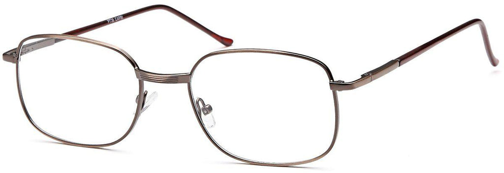 Brown-Classic Square PT 36 Frame-Prescription Glasses-Eyeglass Factory Outlet